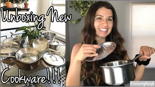 Unboxing All Clad Stainless Steel Cookware