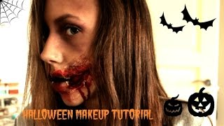 HALLOWEEN MAKEUP ♡ smiley Thumbnail