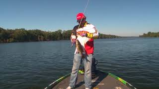 Pickwick Lake -When to throw the Z Boss