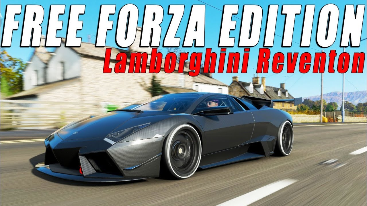 how to get free lamborghini reventon forza edition in. Black Bedroom Furniture Sets. Home Design Ideas