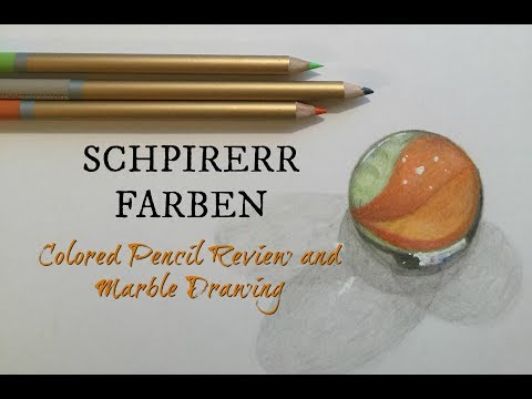 SCHPIRERR FARBEN Colored Pencil Review