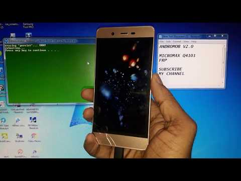 Micromax Vdeo 2 (Q4101) FRP Lock Bypass Done (Android 6 0) 2018