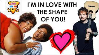 Ed Sheeran - Shape of You vs Eddi Murphy Norbit