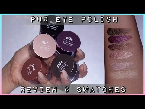 PUR Minerals Eye Polish Review & Swatches | Twilightchic143