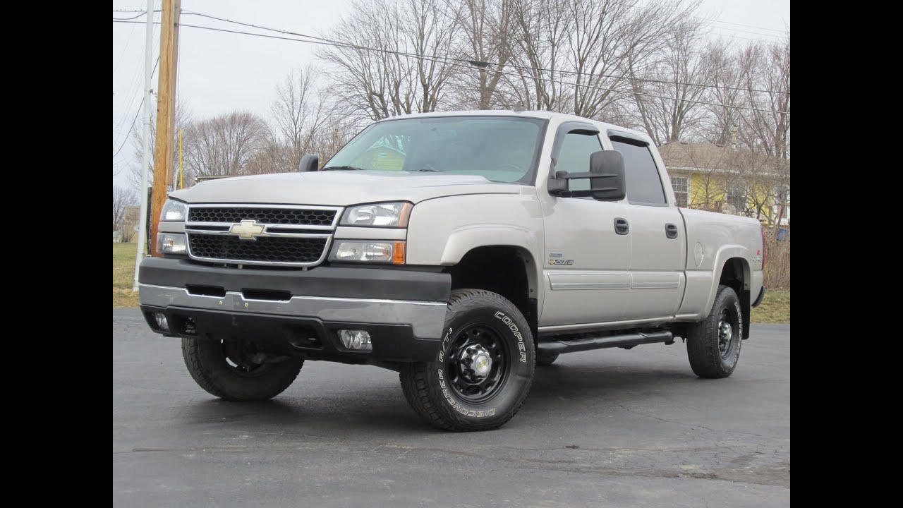 2007 chevy 2500hd lbz duramax lt 4x4 sold youtube. Black Bedroom Furniture Sets. Home Design Ideas