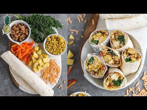 Freezer-Friendly Vegan Breakfast Burritos