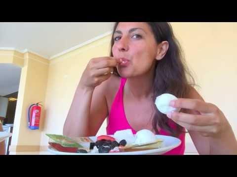 TURKISH Hotel BREAKFAST Mukbang 먹방 Kahvaltı Eggs Olives Cheese Tomatoes Cucumbers Eat Sounds Tsetsi