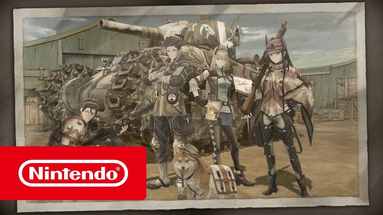 Valkyria Chronicles 4 - Launch Trailer (Nintendo Switch)