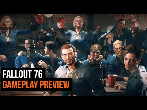 Fallout 76 gameplay preview thumbnail