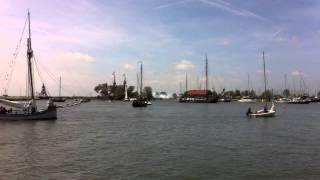 aankomst Halve Maen in Hoorn  1
