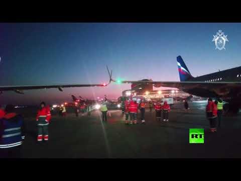 طائرة آيرباص تصطدم بطائرة أخرى في مطار شيريميتييفو بموسكو  - نشر قبل 57 دقيقة
