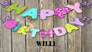 Willi   wishes Mensajes