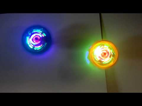 Light up Friction Spinning Top with Music