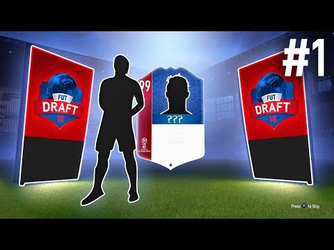 WORLD CUP DRAFT TO GLORY! - FIFA 18 Draft To Glory World Cup #01