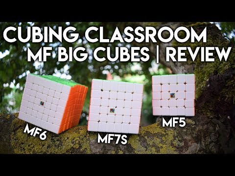 Cubing Classroom MF5, MF6 & MF7S [MF Big-Cubes] | Review - Deutsch