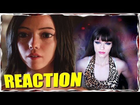 Alita Battle Angel Trailer REACTION