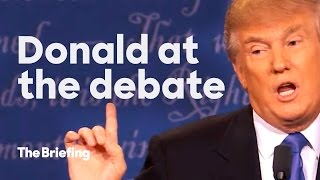 Which version of Donald Trump showed up at the debate? | The Briefing