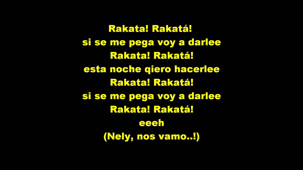 Reggaeton Party 2014 Vol 2 21 Songs: Wisin & Yandel Rakata Letra (reggaeton Antiguo)