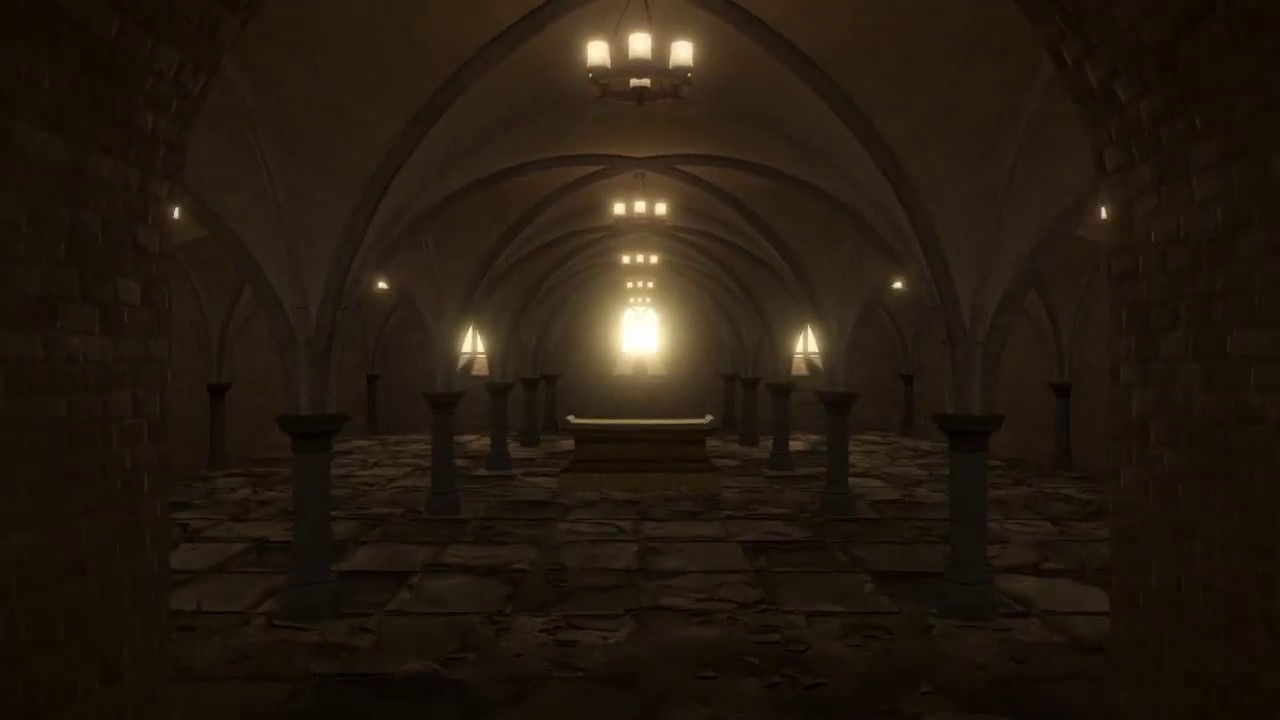 Free Unity3D Assets - Crypt Dungeon Environment
