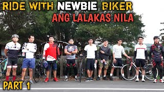 RIDE WITH NEWBIE BIKER/ BENEPISYO NG PAG BABABIKE SA ATING KATAWAN
