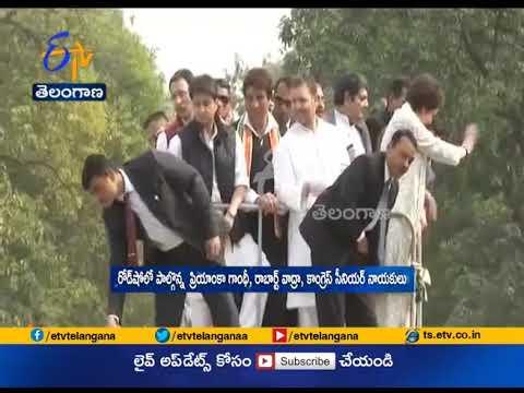 Priyanka Kick Starts Roadshow  | Rahul Gandhi, Scindia Ji Rally | in Lucknow