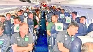 Brazilian Football Team Plane Crashes In Colombia Last Moments #ForçaChape #Chapecoense