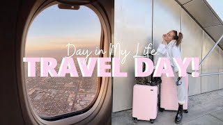 TRAVEL DAY VLOG: Airport Essentials, What's In My Bag, Airplane Snacks, Netflix Downloads and more!