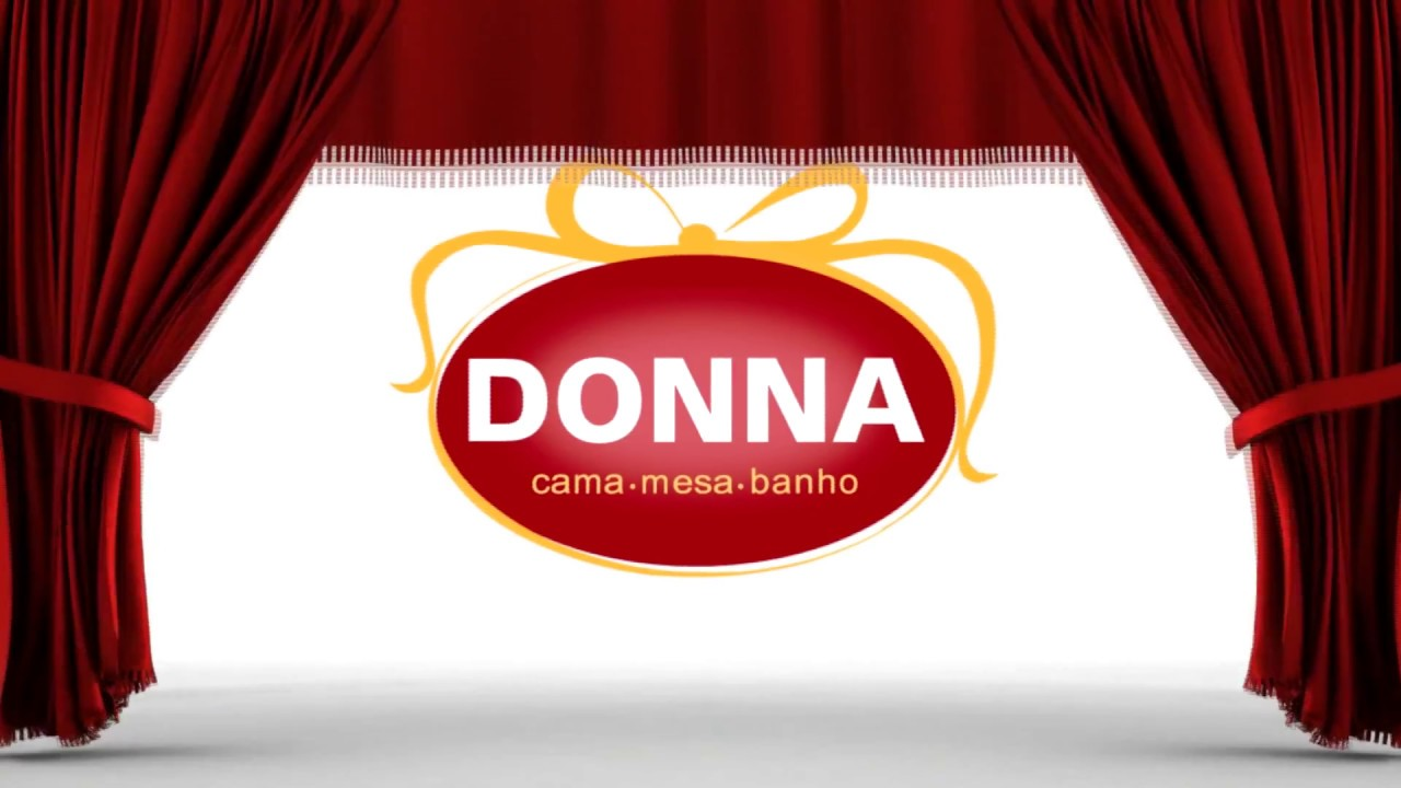24557eef4 Cortinas Donna Floral - Lojas Donna - YouTube