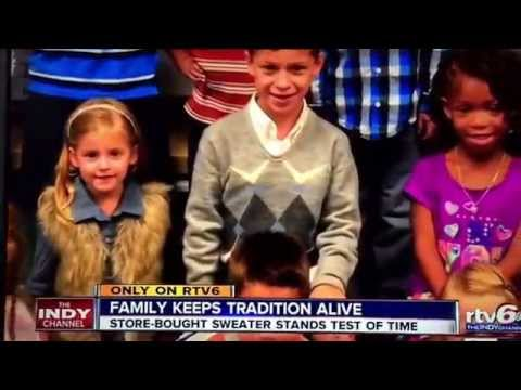 Traditions never go out of style. Via WRTV-6 in Indianapolis. Aired 10/6/15
