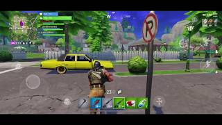 Fortnite Battle Royale mobile [ios] free invite code in this video!! squad gameplay