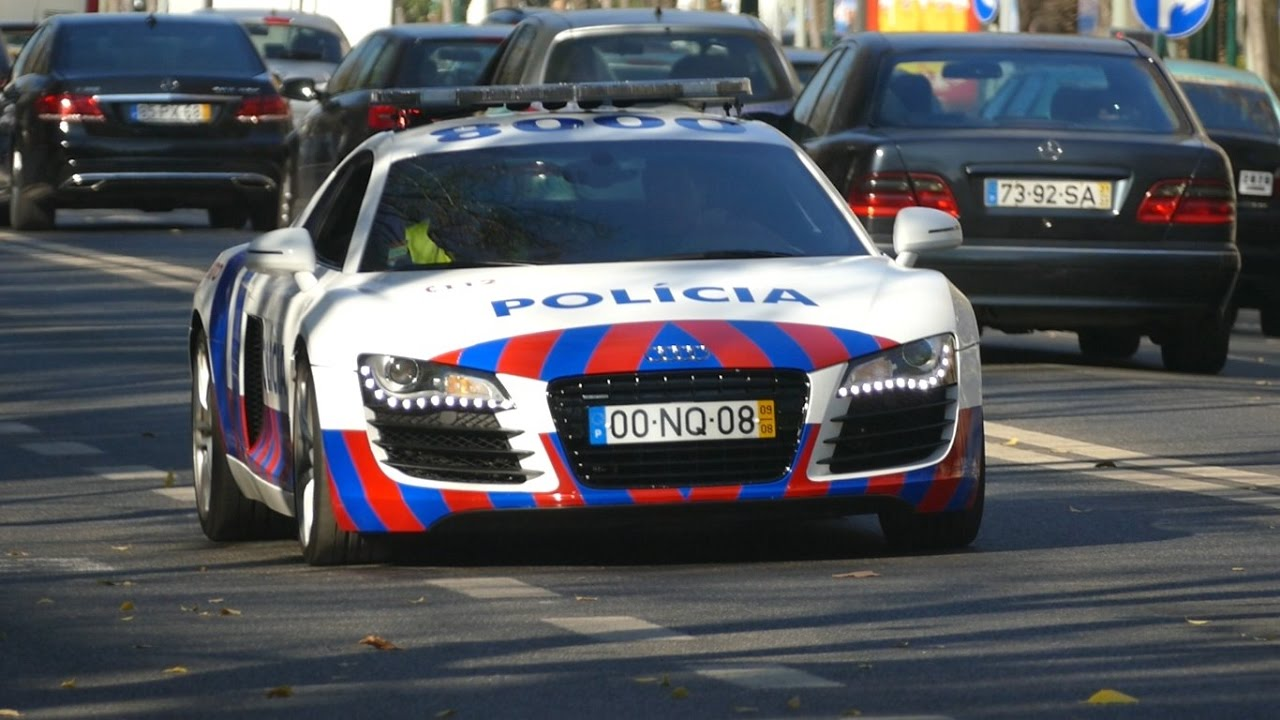 The Portuguese Police Supercar Audi R8