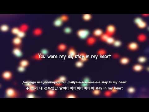 MBLAQ- Stay lyrics [Eng. | Rom. | Han.]