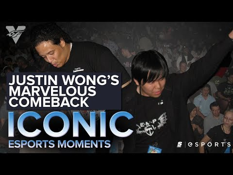 ICONIC Esports Moments: Justin Wong's Marvelous Comeback (FGC)
