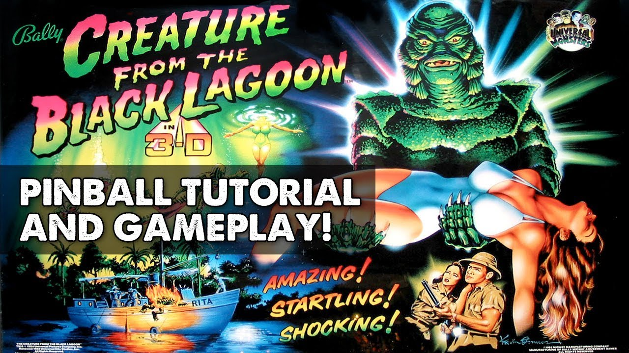 Creature from the Black Lagoon pinball (Bally 304d814972a