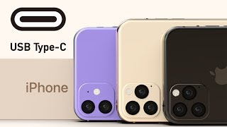 Gambar cover USB-C iPhones! Future iOS 13 Features & Under-Display Camera Tech
