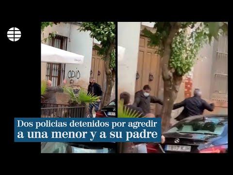 Detenidos dos policías por dar una paliza a un hombre y su hija en Linares  EL MUNDO