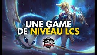 UNE GAME DE NIVEAU LCS (ft Trayton) - Ezreal ADC