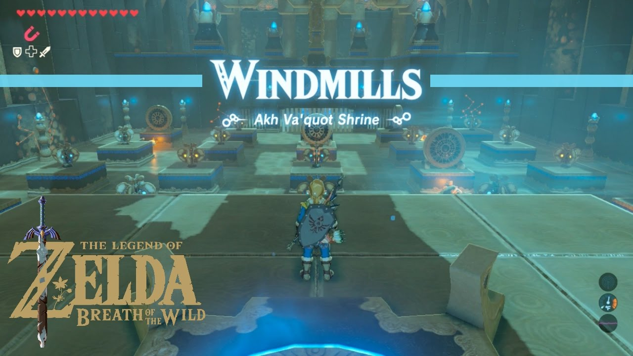 Breath Of The Wild Akh Va Quot Shrine Walkthrough Youtube That way, all windmills are active in the room. breath of the wild akh va quot shrine walkthrough