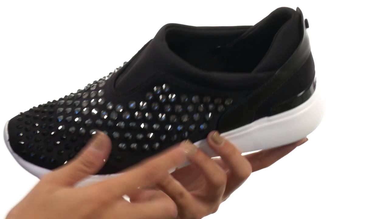 8d64b4781845 MICHAEL Michael Kors Ace Trainer SKU 8710400 - YouTube