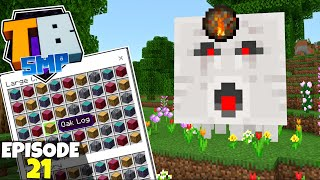 Truly Bedrock S2 Ep21! Ghast Powered Tree/Fungus Farm! Bedrock Edition Survival Let's Play!