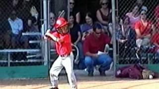 Kyle Palmer 7 Yr Old Baseball Home Run King - Son of Scorpion Swords & Knives Chris Palmer