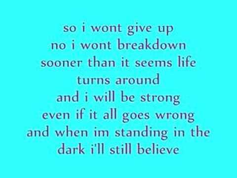 Hilary Duff Someone's Watching Over Me  w/Lyrics