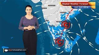 Weather Forecast for Oct 15: Rains in Andhra Pradesh, Tamil Nadu, Kerala, Karnataka