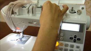 Урок 2. Заправка верхней нити. Швейная машинка Brother NV 350