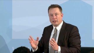 Elon Musks Idee von Direkter Demokratie (Berlin 2015)