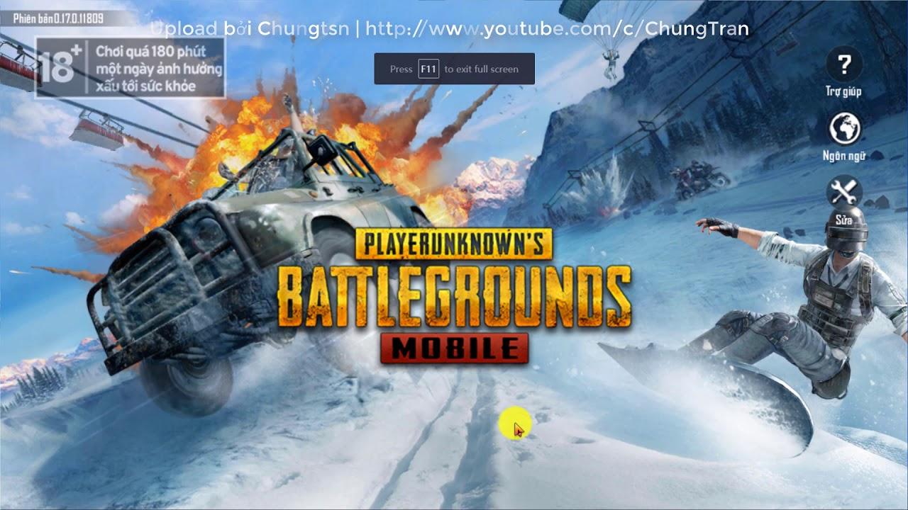 Cài đặt tải giả lập game TENCENT PUBG MOBILE VIỆT NAM VNG APK | CALL OF DUTY MOBILE GARENA trên PC