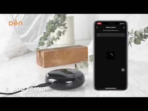 Cara Menghubungkan Den Universal Remote Dengan Smartphone - Den Smart Home