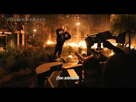 El Planeta de los Simios: Confrontación (2014) TV Spot Oficial Subtitulado HD