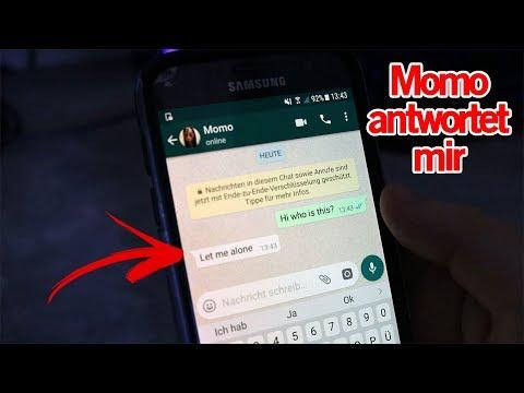 Momo antwortet mir