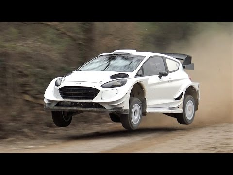 Elfyn Evans Amazing Test | Ford Fiesta WRC 2017 | Rally Mexico by Jaume Soler